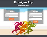 Runningan app
