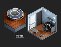 iRobot - Isometric Office