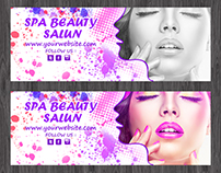 Facebook Cover Page ''Spa Beauty Salon""