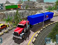 Offroad Cargo Truck – Trailer Transport Sim 2018