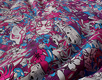Kabuki Fabric
