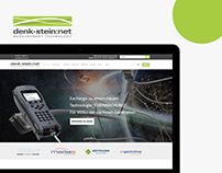 Landing page for denk-stein:net