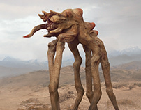 Warp Strider Creature Design