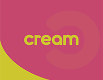 cream - harmonic font for continuous text