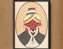 Musang Berjanggut (Bearded Fox)