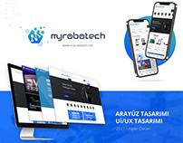 2021 Bitirme Projesi: Myrobotech Arayüz Tasarımı