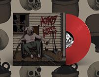 "HOBOS X BORDER BASTARD 7""SPLIT album"