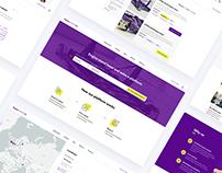 UX/UI web and platform design for EngineStands24