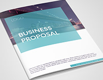 in design, modern, professional,project proposal,report
