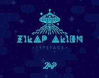 Zilap Alien - typeface