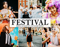 Free Festival Mobile & Desktop Lightroom Preset