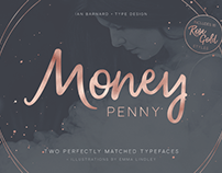 Money Penny - Script & Sans by Ian Barnard