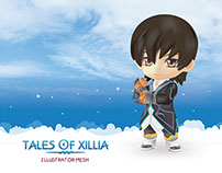 JUDE MATHIS (Tales of Xillia) Illustrator 3D