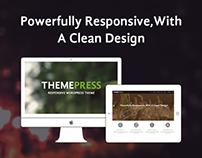 Responsive Theme Designed for ThemeForest