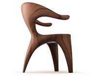 Buffalo Chair.