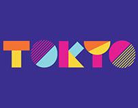 Tokyo typography