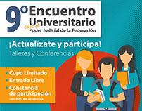 9 Encuentro Universitario SCJN