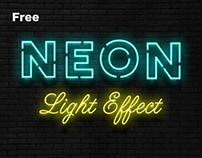 Free Realistic Neon Sign Effect