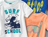 Crazy 8 Summer '15 - Toddler Boy Graphic Tees