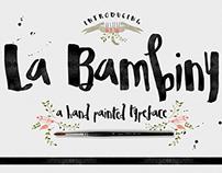 La Bambiny Typeface