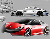 Porsche Targa Concept (In Progress)