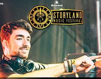 STORYLAND MUSIC FESTIVAL 2017-2018 / Piezas Estáticas.