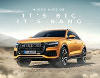 Audi Q8 CGI + Retouch