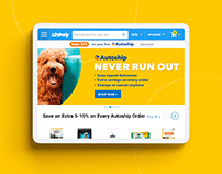Ecommerce Website for Dog - Chewy