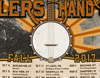 Kitchen Dwellers/Horseshoes & Hand Grenades Tour Art