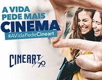 Cineart 70 anos - vídeo para redes sociais