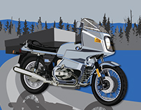 BMW R 100 RS illustration