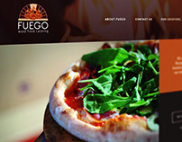Fuego Wood Fired Catering Website