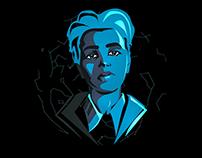 Portrait | Blue