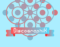 Discographix - free fonts family.