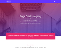 Bigga - Creative Template