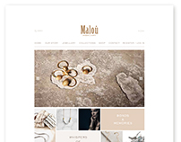 Malou Jewellery / Website