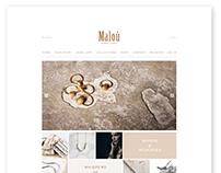 Malou Jewellery / Website