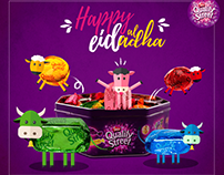 Quality street Eid Adha Greeting post