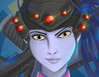 Widowmaker - Overwatch Fanart