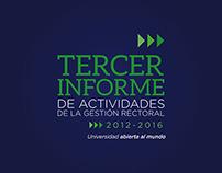 3er Informe UNICACH 2012-2016