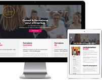 Création du logo et du site web de C Clair