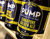 Pump - A Microbrewed Craft Beer Brand