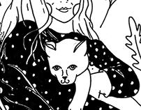 A gata de Catarina