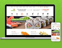 Food delivery - web shop