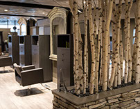 Interior Design: Leslie McGwire -Tribute Salon & Spa
