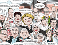 Caricature poster x24