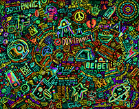 The Doodle Of Don't Panic!