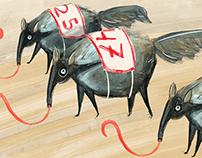 Illustrations for batenka.ru articles