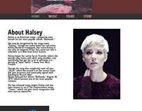 Halsey Website