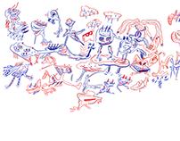 4k doodle movie